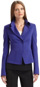 Akris Punto Blazer Wool Longsleeve purple Jacket