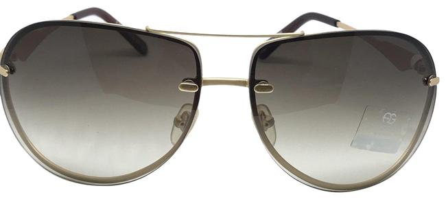 Item - Gold Ultra Thin Classic Polarized with Oblong Lenses Sunglasses
