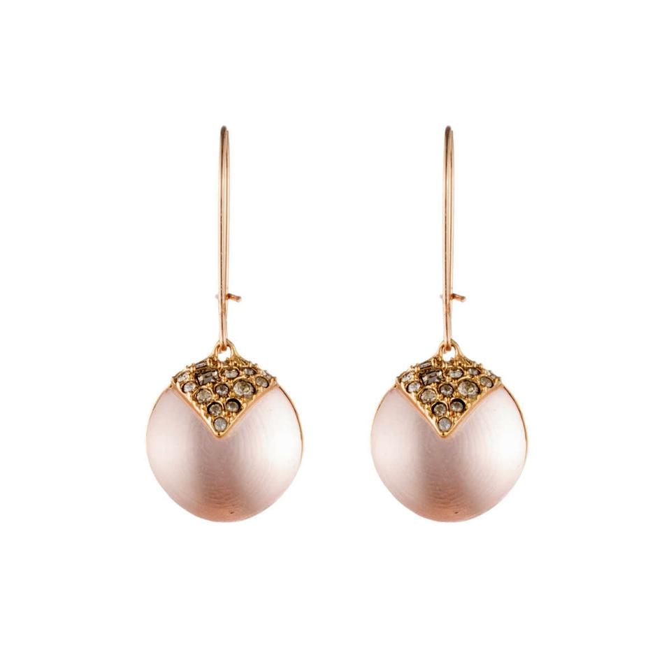Alexis Bittar New Origami Inlay Dangling Sunset Sphere Drop Earring