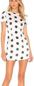 House of Harlow 1960 short dress white & black on Tradesy