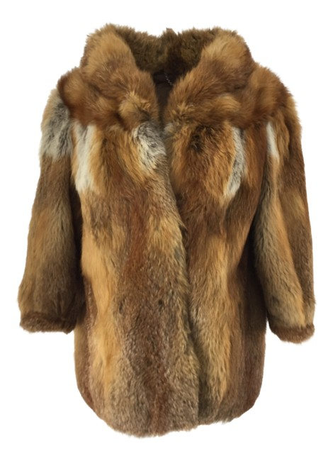 Item - Brown Fox Coat Size 10 (M)