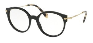 99369adaaca Miu Miu New Rounded Eye Glasses VMU 04p 1ab101 Free 3 Day Shipping
