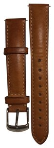 Michele Brown calfskin Michele watch band