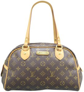 Louis Vuitton Lv Montorgueil Canvas Pm Shoulder Bag