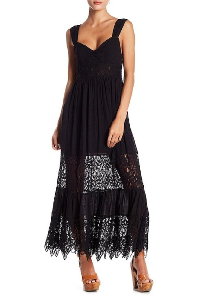 82eee05bbfe Free People  nwt  Caught Your Eye Long Casual Maxi Dress Size 2 (XS ...