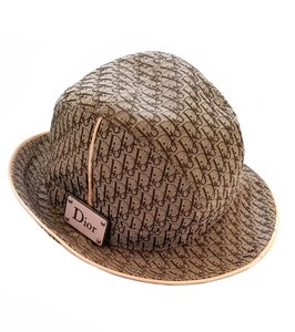 Dior Brown Trotter Monogram Canvas Hat - Tradesy 52123c19054