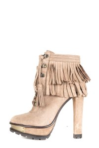 Brian Atwood brown Boots