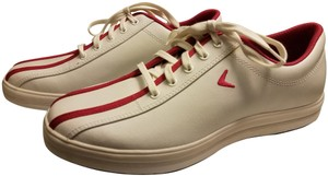 Callaway Spikeless Leather Waterproof Comfort White/Red Athletic