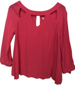 Cooperative Longsleeve Size Small Boxy Fit Top Pink