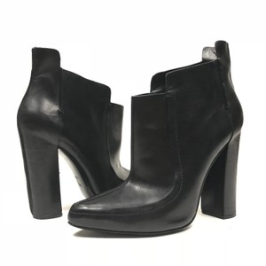 Alexander Wang Pull-on Heeled Ankle Black Boots