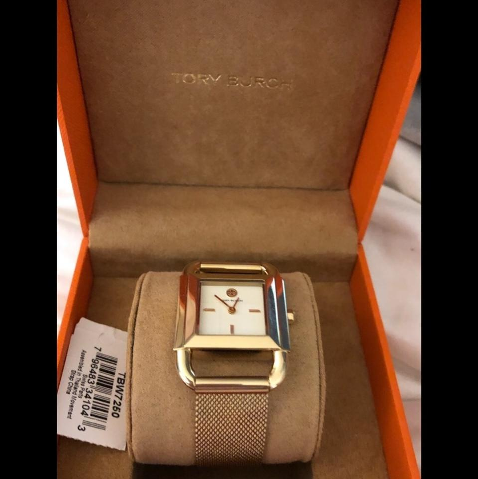 """554c1850cce Tory Burch Gold New """"phipps""""golden 29x41 Mm Watch - Tradesy"""