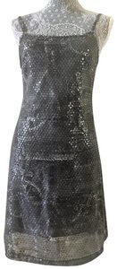 Versace Night Out Date Night Edgy Strappy Sequin Dress