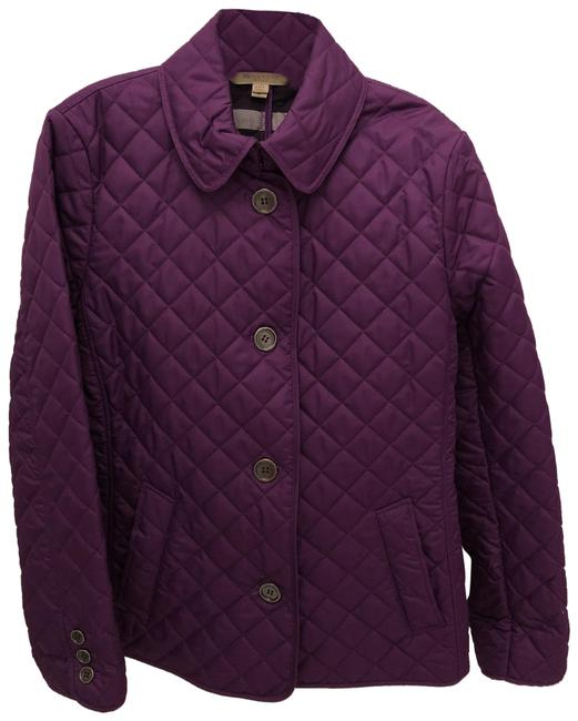 Item - Purple Quilted Jacket Size 8 (M)