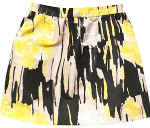RED Valentino Skirt yellow black and nude