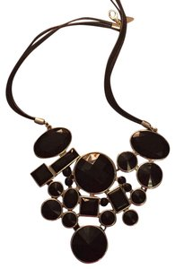 Avenue Black Statement Necklace