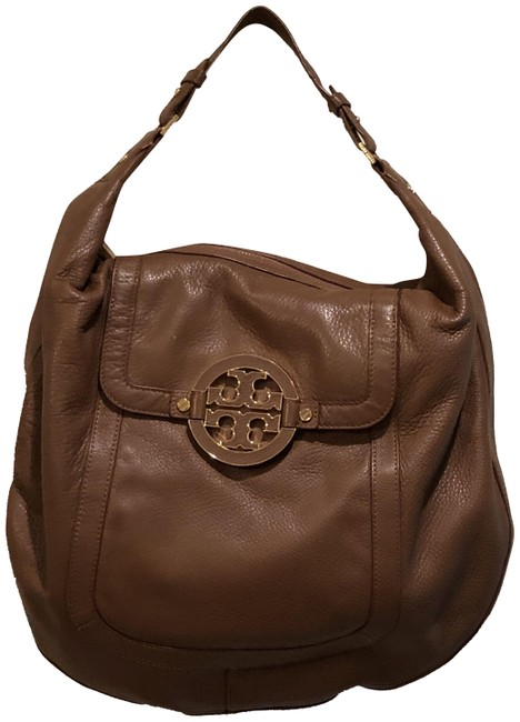 Item - Slouchy Brown Leather Hobo Bag
