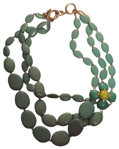 Charming Charlie Green Statement Necklace