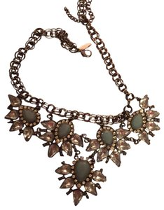 Charming Charlie Blue Statement Necklace