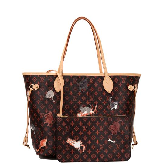 Preload https://img-static.tradesy.com/item/24428390/louis-vuitton-neverfull-x-grace-coddington-monogram-catogram-mm-brown-coated-canvas-tote-0-0-540-540.jpg