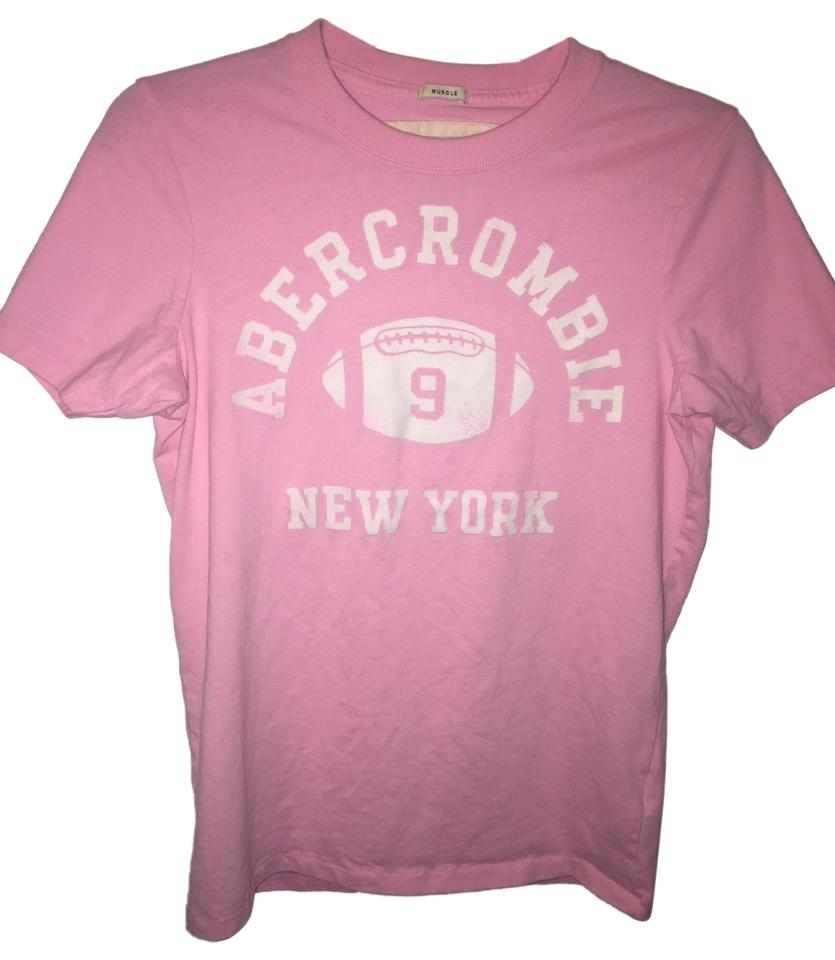 Abercrombie   Fitch Pink New York Tee Shirt Size 8 (M) - Tradesy 98a886e9c5d