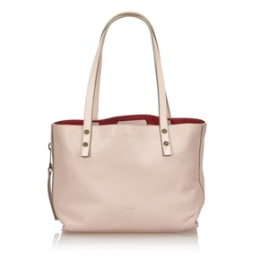Chloé 8aclto006 Tote in Pink