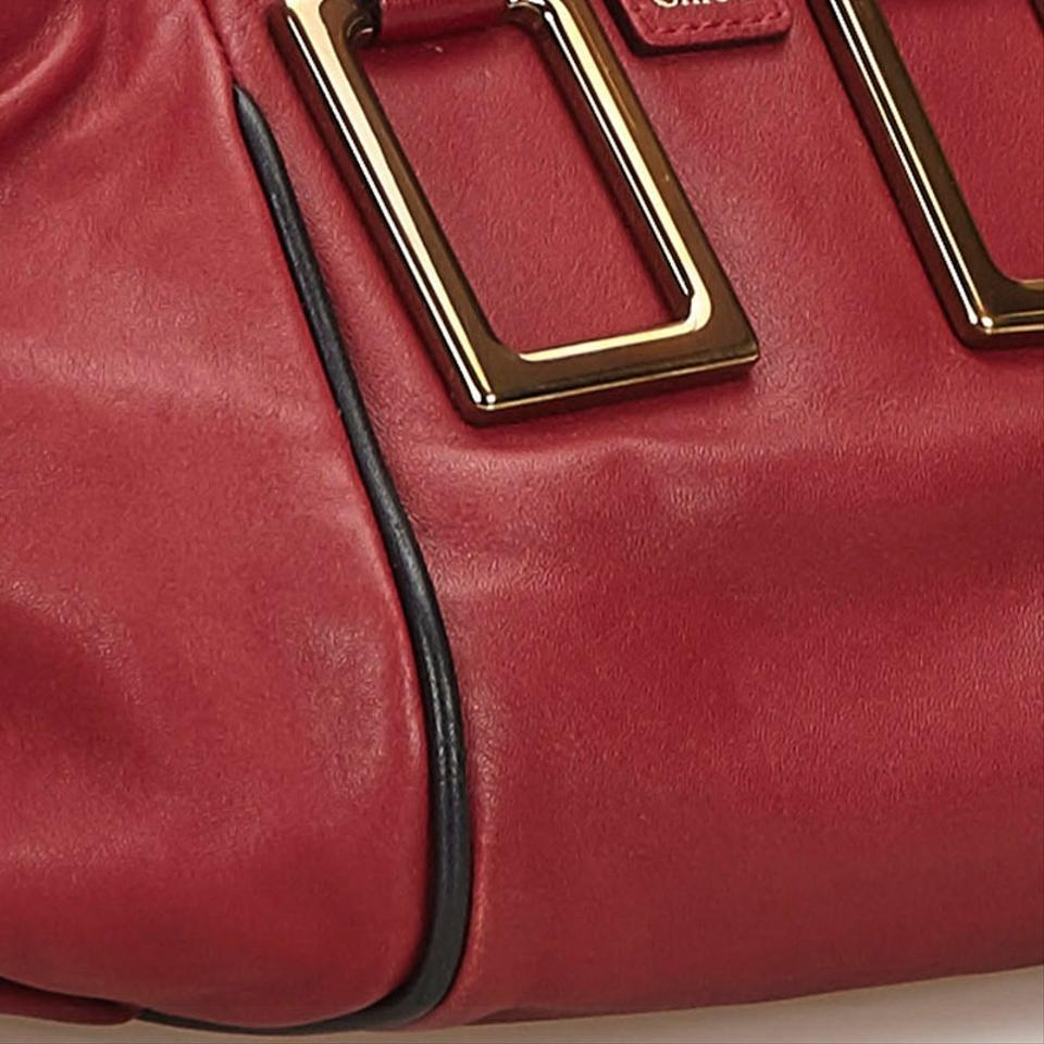 fa4b7aa5cc Chloé 8gclst003 Satchel in Red Image 11. 123456789101112