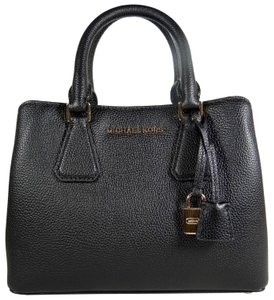 Michael Kors Leather 191935539304 Satchel in Black