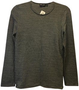 Giorgio Armani Cashmere Blend Long Sleeve New With Tags Sweater