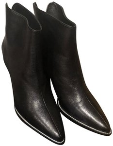 Rachel Comey Classic Zip Leather Outsole Kidskin/Cow Leather Black Boots