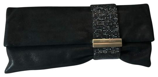 Preload https://img-static.tradesy.com/item/24429084/jimmy-choo-crystal-band-chandra-black-shimmer-suede-clutch-0-2-540-540.jpg