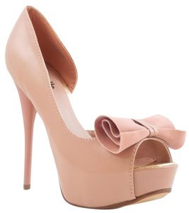 Charlotte Russe Nude Pumps
