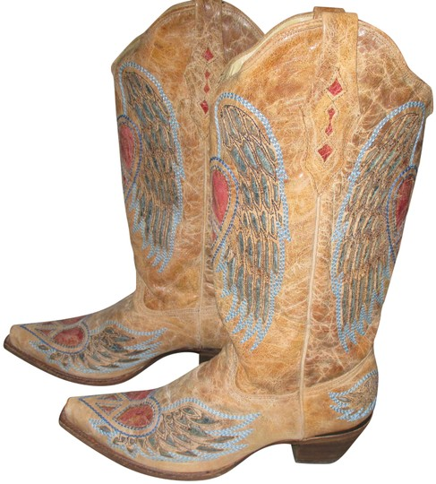 Preload https://img-static.tradesy.com/item/24429126/corral-boots-multicolor-women-s-antique-wing-and-heart-western-a1976-m-bootsbooties-size-us-11-regul-0-2-540-540.jpg