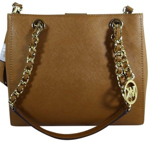 Michael Kors Leather 191935003058 Tote in Luggage