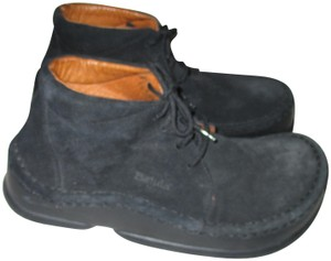 Birkenstock Germany Leather Betula Black Boots