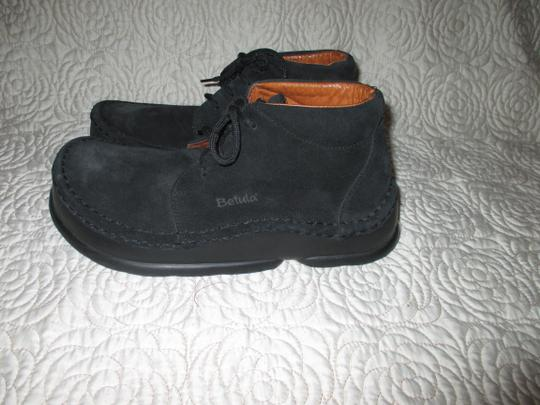 Birkenstock Germany Leather Betula Black Boots Image 11