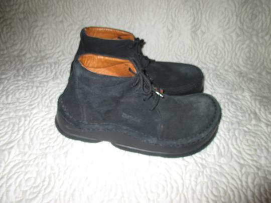 Birkenstock Germany Leather Betula Black Boots Image 3