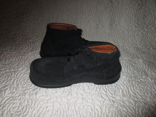 Birkenstock Germany Leather Betula Black Boots Image 4