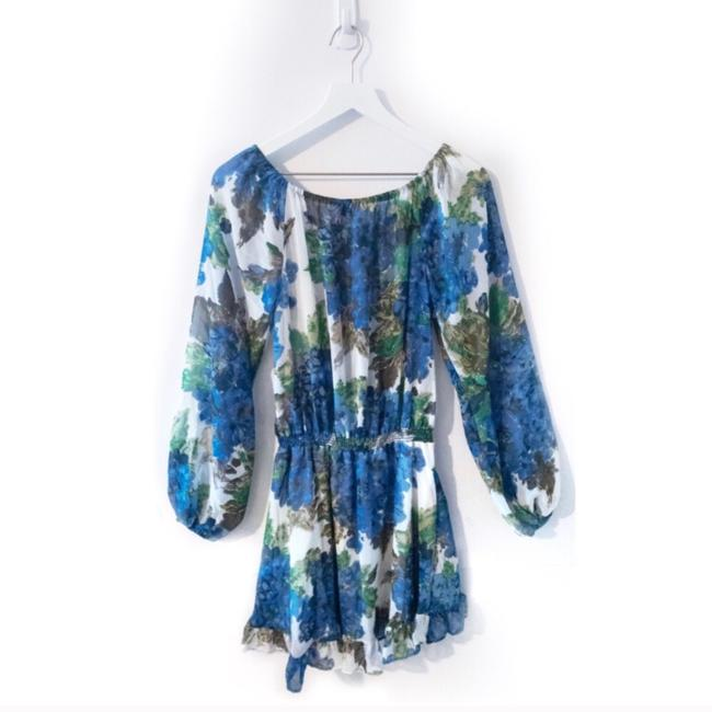 Show Me Your Mumu short dress Blue and Green on Tradesy Image 1