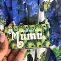Show Me Your Mumu short dress Blue and Green on Tradesy Image 3