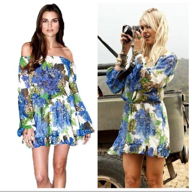 Show Me Your Mumu short dress Blue and Green on Tradesy Image 7