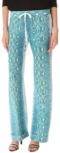 Joseph Wide Leg Pants Green and Blue
