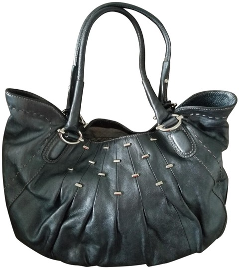 Preload https://img-static.tradesy.com/item/24429259/maxx-new-york-with-adornments-pewter-leather-tote-0-1-540-540.jpg