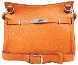 Hermès Clemence Jypsiere 28 Cross Body Bag