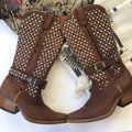 Jeffrey Campbell Brown Boots Image 1