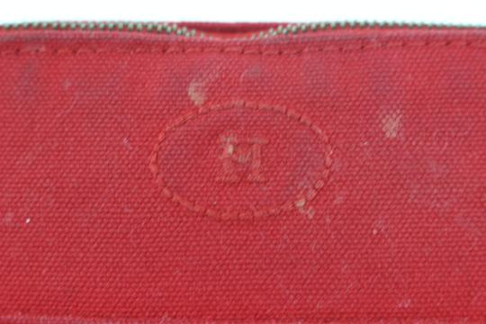 Hermès Make Up Toiletry Cosmetic Trousse Pouch Red Clutch Image 11