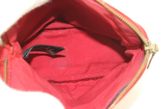 Hermès Make Up Toiletry Cosmetic Trousse Pouch Red Clutch Image 3
