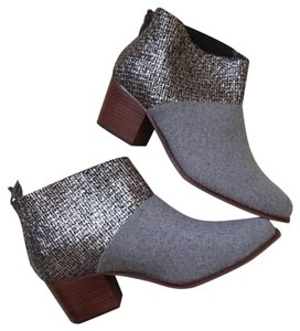 TOMS Gray Boots
