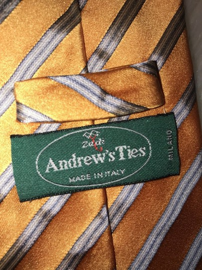 Orange Zach Made In Italy Tie/Bowtie Image 2