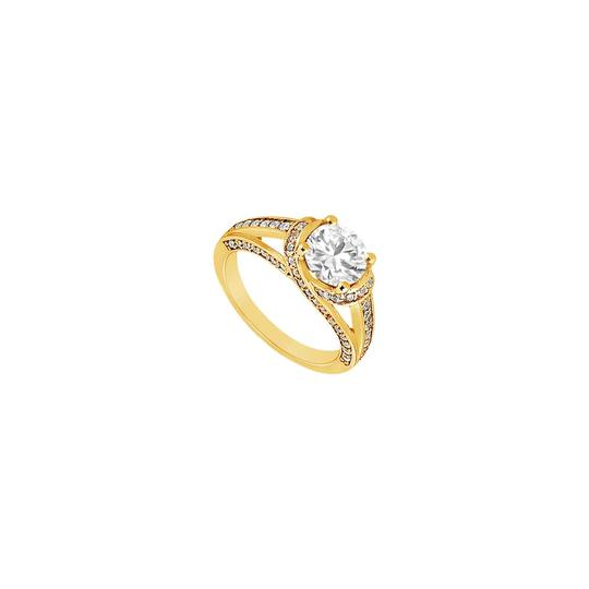 Preload https://img-static.tradesy.com/item/24429691/white-cubic-zirconia-engagement-18k-yellow-gold-vermeil-100-ct-czs-ring-0-0-540-540.jpg