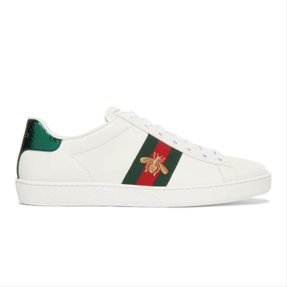 c4efac3968b Gucci Ace Bee Embroidered Leather Sneakers Sneakers Size US 5.5 ...